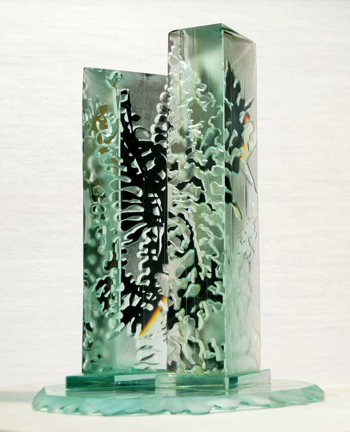 Accueil portfolio : La nature algues dyptique 2