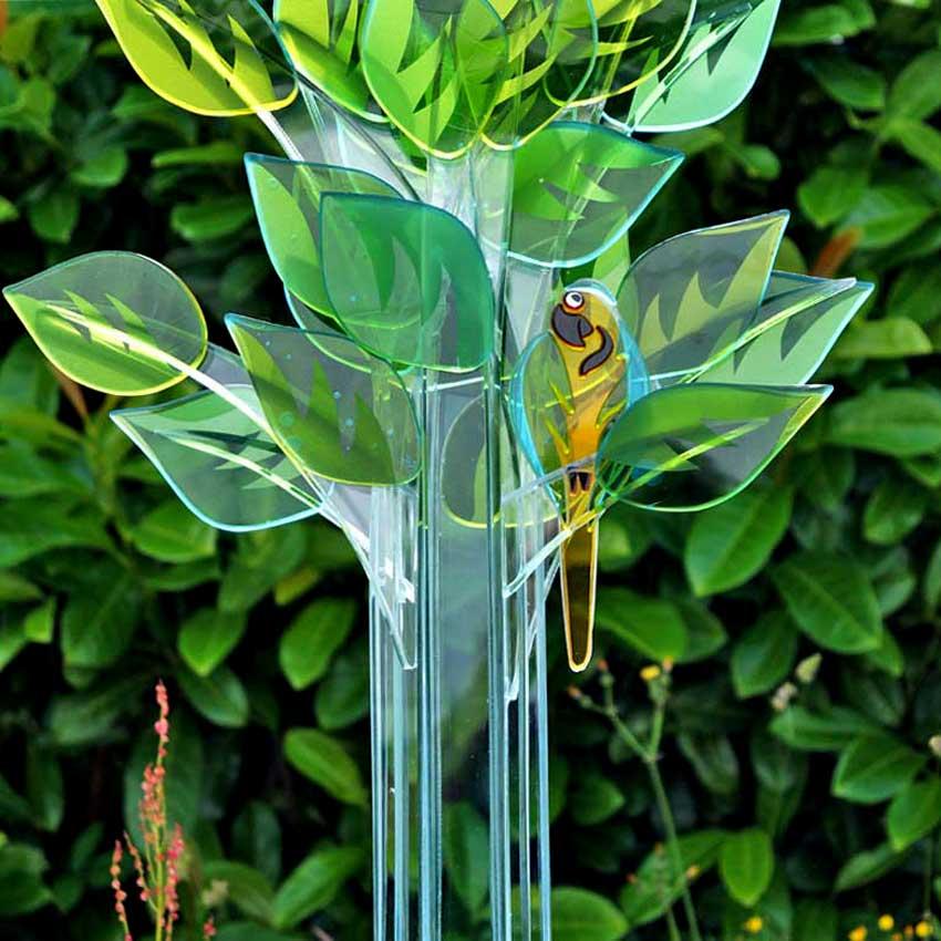 """Accueil : portfolio la nature, arborescence, ensemble sculpté et gravé au jet de sable, pièce unique assemblage verre,verre St Just intitulée """"le changement climatique 2"""" (détail)"""