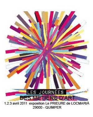 exposition de prestige au Prieuré de Locmaria Quimper en 2011