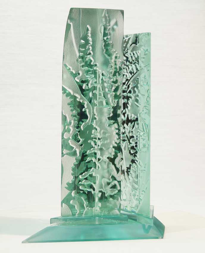 Accueil portfolio : La nature algues dyptique 1