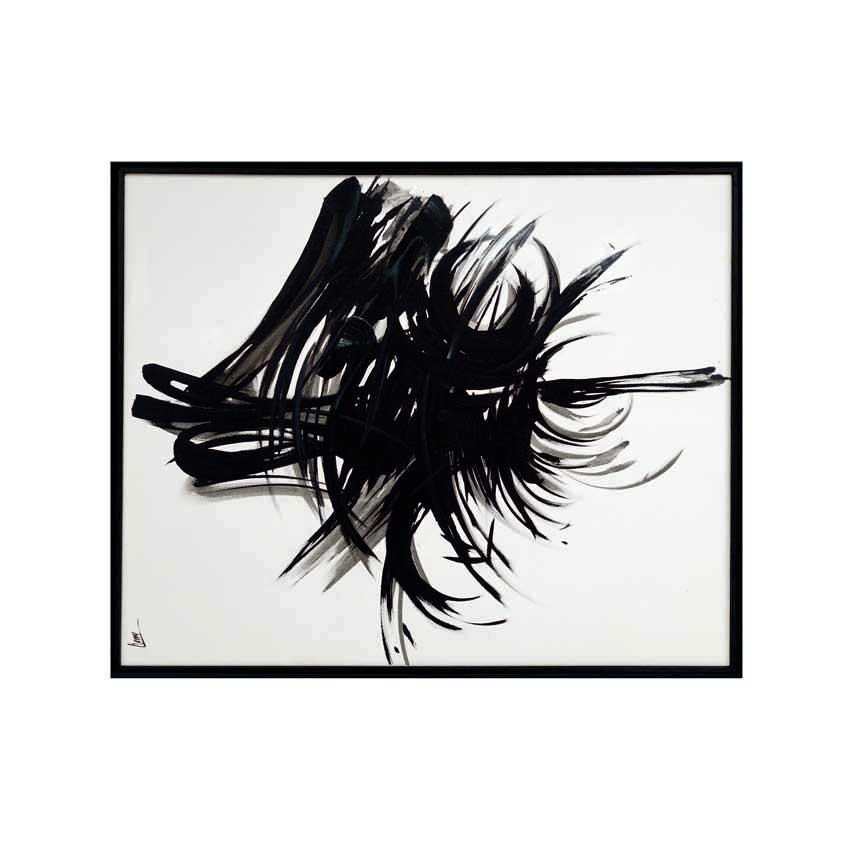 Peinture acrylique sur toile 75 x 100 cm