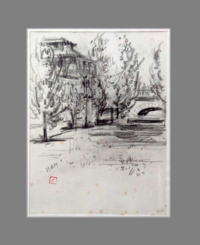 Accueil : portfolio dessin,carnet de voyage, sketching book,Braga Miño Douro Portugal ,mine de plomb sur papier