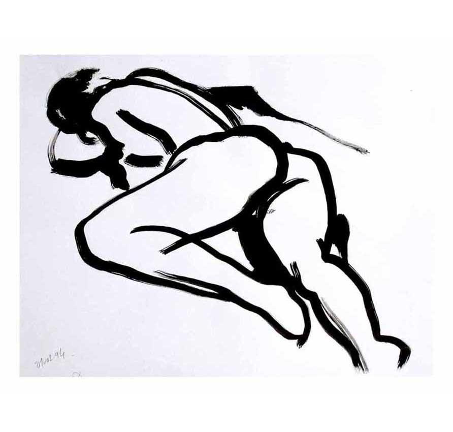 Accueil : portfolio dessin,modèle vivant ,living model sketches ,encre de chine sur papier