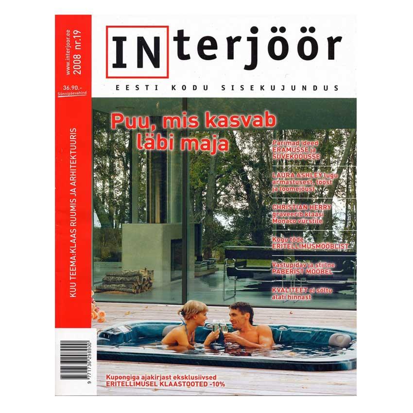 interjoor 2008 article presse : publication magazine décoration intérieure Estonien