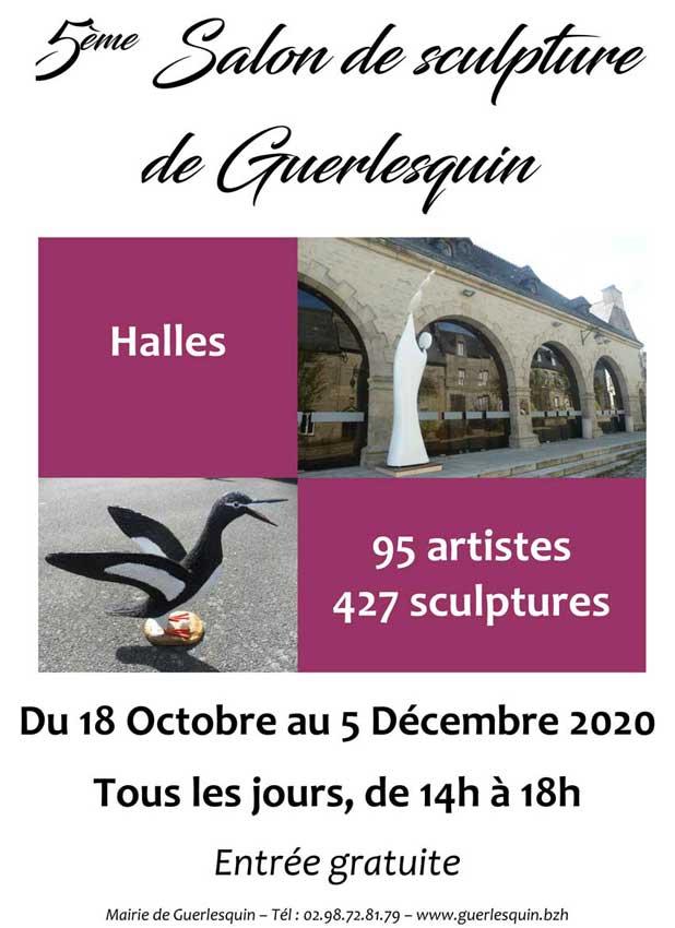 affiche de l'exposition 2020 Guerlesquin